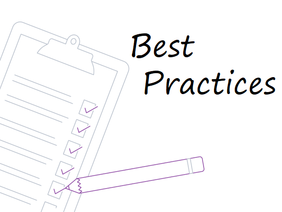 Best practices for evaluation/review